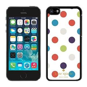 Hot Sale 5C Case,Kate Spade 49 Black iPhone 5C Screen Phone Case Custom and Fashion Design