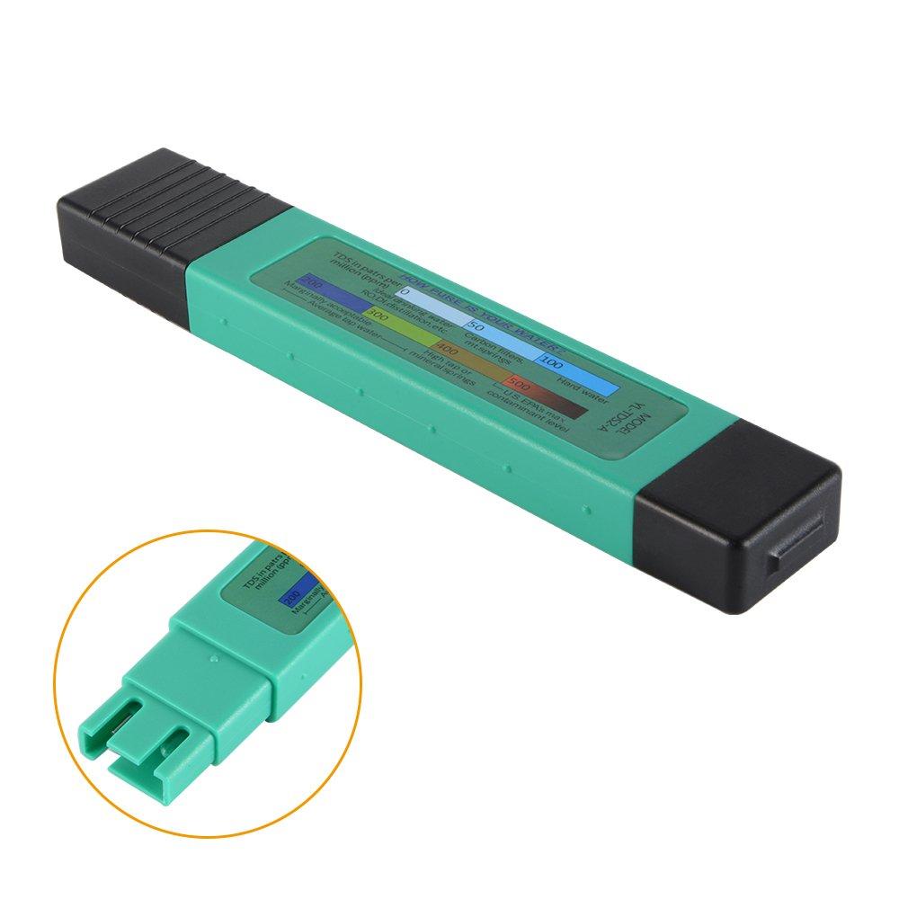 XCSOURCE Testeur TDS+EC+Thermom/ètre 3en1 et pH-m/ètre avec Bouton de Calibrage Automatique Style Moniteur de Qualit/é dEau Exactitude Num/érique Contr/ôleur Portatif BI715