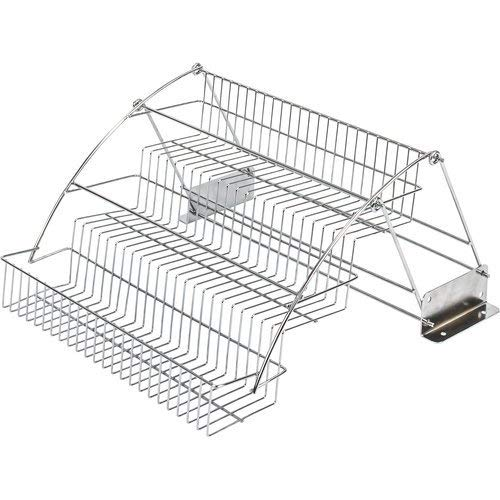 Rack Spice Rubbermaid - Hardware Resources TTSPD-R 3-Tier Spice Rack Pulldown for Standard 18 in. (457mm) Cabinet