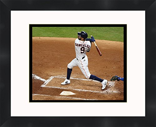 Marwin Gonzalez - 2017 Houston Astros World Series Champions , 11 x 14 Matted Collage Framed Photos Ready to hang ()