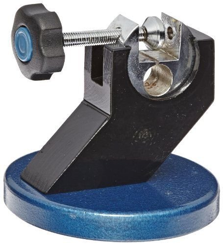 Micrometer Stand with Hammertone Blue Baked Enamel Base