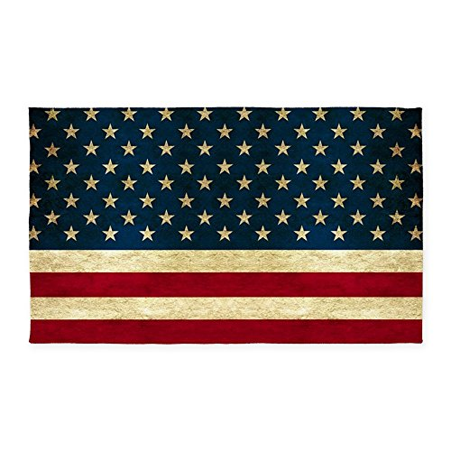 CafePress - Tea-Stained Antiqued American Flag 3'X5' - Decor