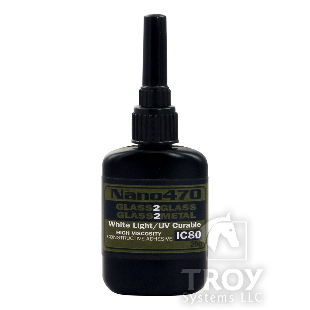 Nano470 Construction Glass Glue (20 G)|high Strength Adhesive Will Simply Amaze You|The Bonding of Glass to Glass and Glass to Metal Extremely Strong