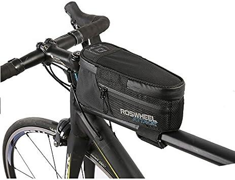 ROSWHEEL ATTACK Series Bicycle Front Tube Bike Handlebar Bag Cycling Storage @
