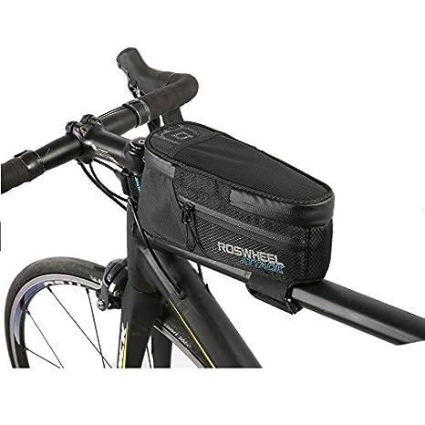 eda02d19a2b ROSWHEEL ATTACK Series Waterproof Handlebar Cell Phone Pocket Bicycle Bike  Travel Bag Pannier Accessories MTB Road