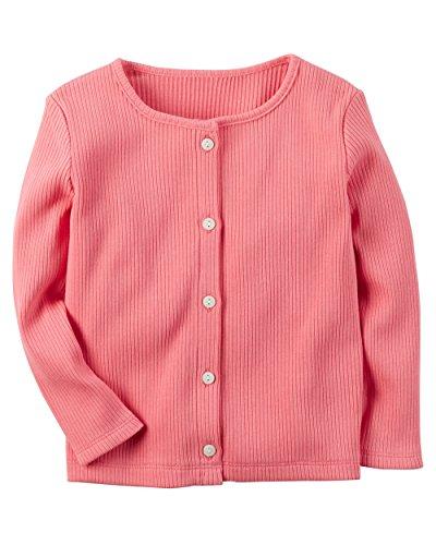 - Carters Baby Girls Pink Cardigan, 5