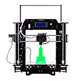HICTOP Prusa I3 3D Desktop Printer, DIY High Accuracy CNC Self-Assembly Tridimensional