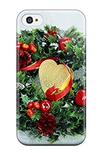 New Style 8206961K48682714 Brand New 4/4s Defender Case For Iphone (holiday Christmas)