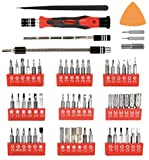 PREMIUM 62 in 1 Professional Repair Tool Kit With 56 Magnetic Specialty Bit Set - Precision Screwdriver Set FOR iPhone X, 8, 7 and below / Phone / Computer / Tablet / Xbox / PlayStation / electronics