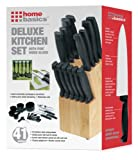 Home Basics 41-Piece Knife Set with Block