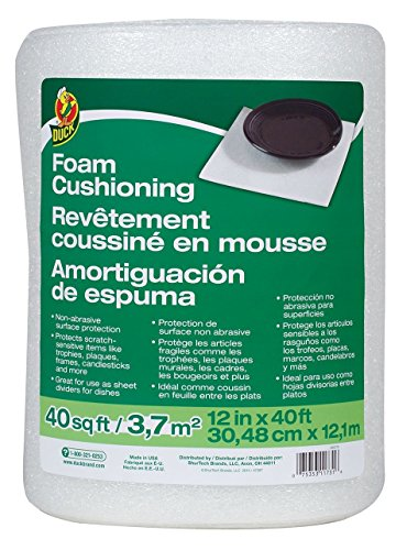 FOAM CUSH WRAP 12''X40' by DUCK MfrPartNo 283279 by Duck
