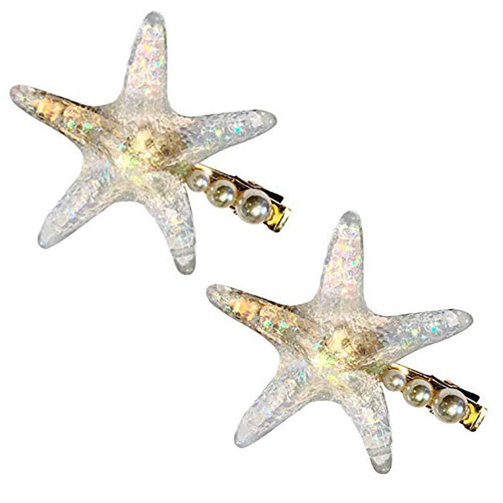 Starfish Hair Clip Mermaid Costume Accesory