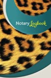 "Notary Log Book: 50 Pages, 5.5"" x 8.5"" Cheetah"