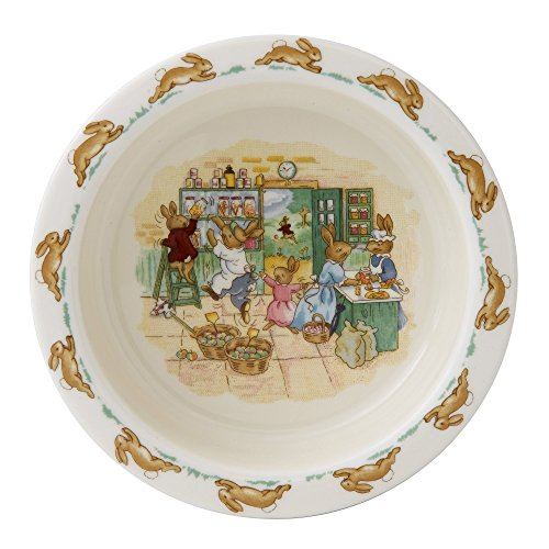 (Royal Doulton Bunnykins Baby Plate w/Gift Box)