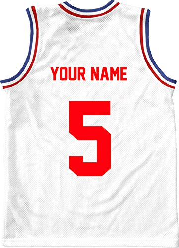RED,8 Tall,Single Number for Sports T-Shirt jersey football Baseball,Iron On, heat transfer, team,t-shirt(Style A)(5-RED)
