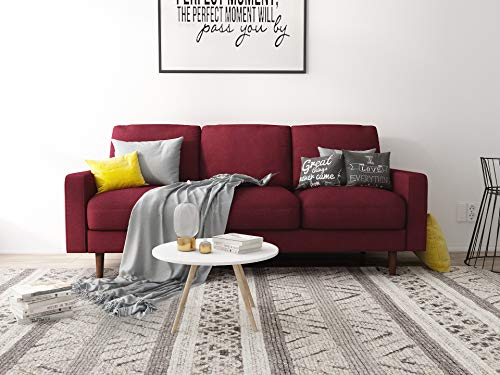 US Pride Furniture S5419-S Obadiah Sofa, Burgundy