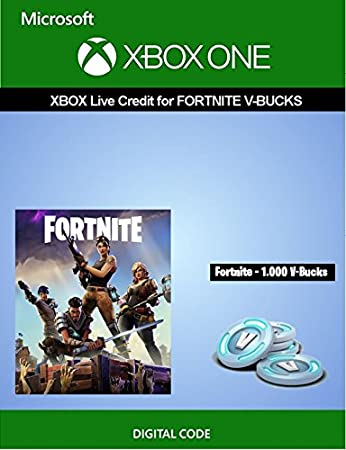 Xbox Live Credit For Fortnite - 1,000 V-Bucks | Xbox One [Digital Code]