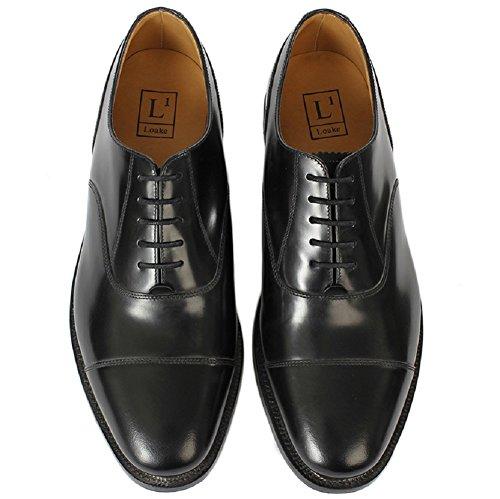 Loake - Zapatos Planos con Cordones hombre negro