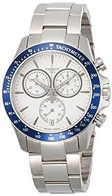 Tissot Men's Quartz Stainless Steel Casual Watch, Color:White (Model: T1064171103100)
