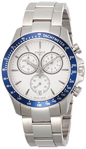 Tissot Men's Quartz Stainless Steel Casual Watch, Color White (Model: T1064171103100)