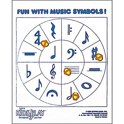 Amazon com: Fun With Music Symbols- Pack of 2: Musical