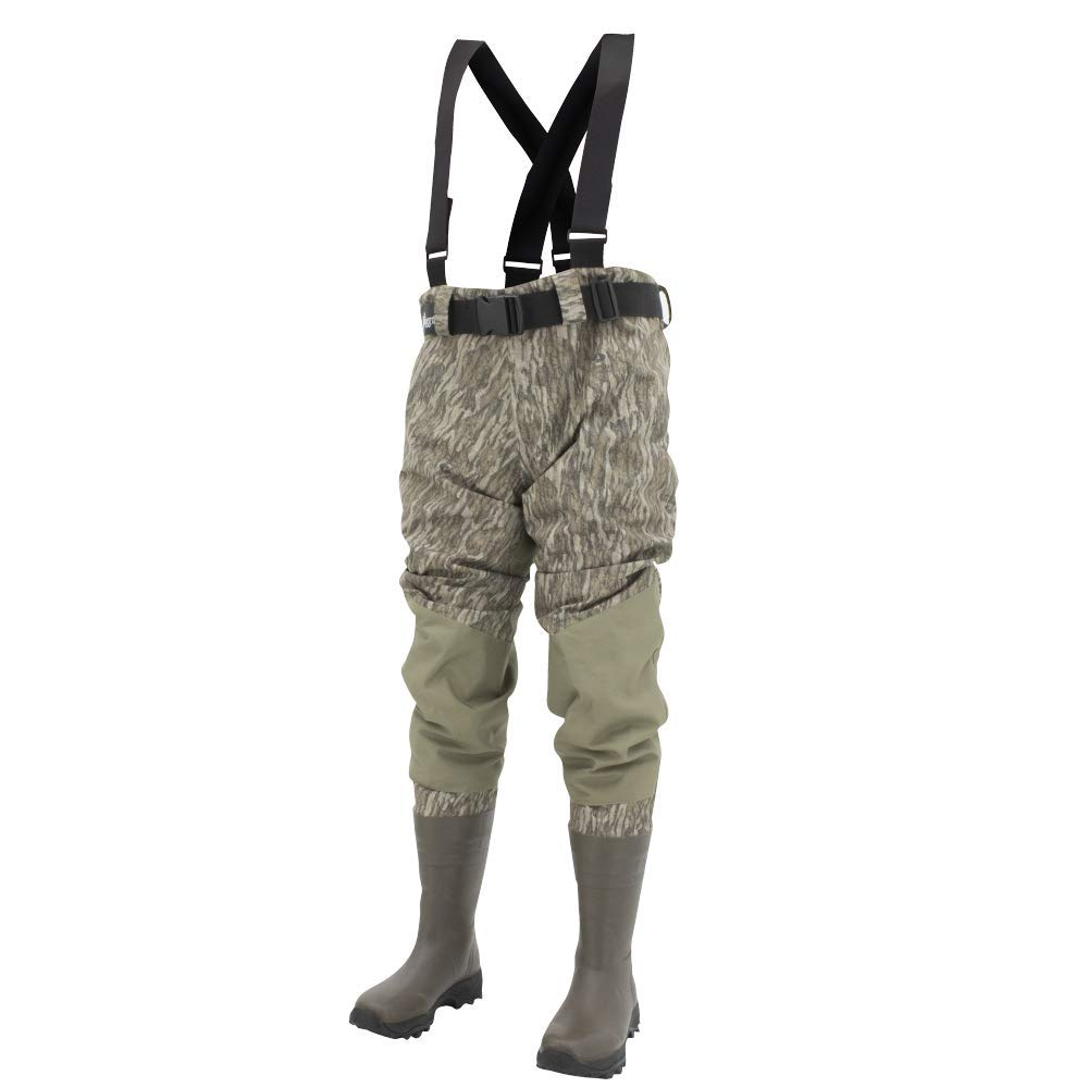 Frogg Toggs Grand Refuge 2.0 Bootfoot Waist Wader, Cleated Outsole, Camo by Frogg Toggs