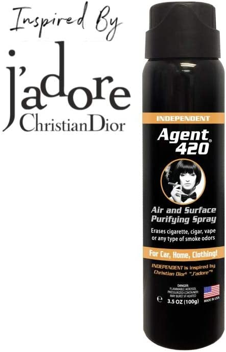 Agent 420 Spray purificador de aire y superficie – Borra el olor ...