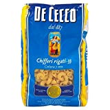 De Cecco Pasta Chifferi Rigati (500g) - Pack of 6