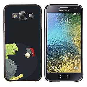 TECHCASE---Cubierta de la caja de protección para la piel dura ** Samsung Galaxy E5 E500 ** --Hambriento