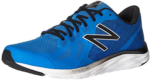 New Balance MenS 790v6 Speed Ride Running Shoe, Azul el?ctrico/Negro (Electric Blue/Black/Hi Lite), 42.5 EU/8.5 UK