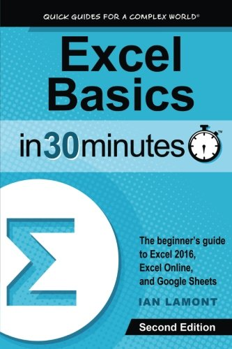 Excel Basics In 30 Minutes (2nd Edition): The quick guide to Microsoft Excel and Google Sheets