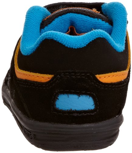 Vans Knightro Fashion Skate - Zapatos de punta redonda con cierre de velcro Black/Blue/Orange