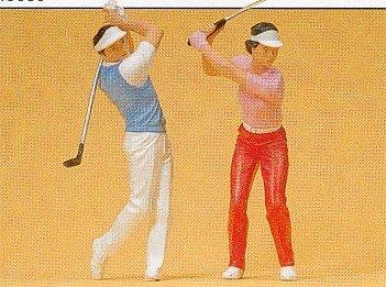 Preiser 45040 Golfers Package(2) G Model Figure
