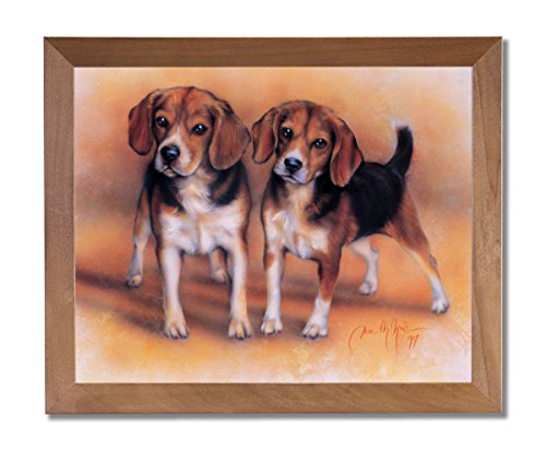 Baby Beagle Puppy Dogs Hunting Animal Wall Picture for sale  Delivered anywhere in USA