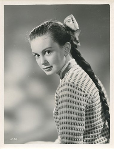 Janette Scott Original 1950's Studio Portrait With Pony Tail]()