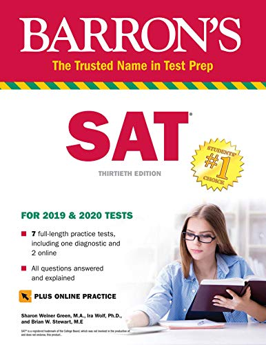 Pdf Test Preparation SAT Premium Study Guide with 7 Practice Tests
