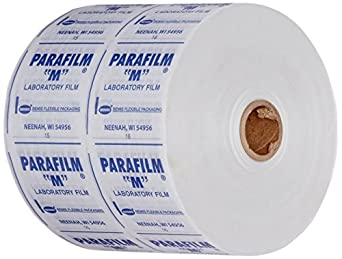 "Parafilm M PM999 All-Purpose Laboratory Film, 4"" x 250' on 1"" Core"