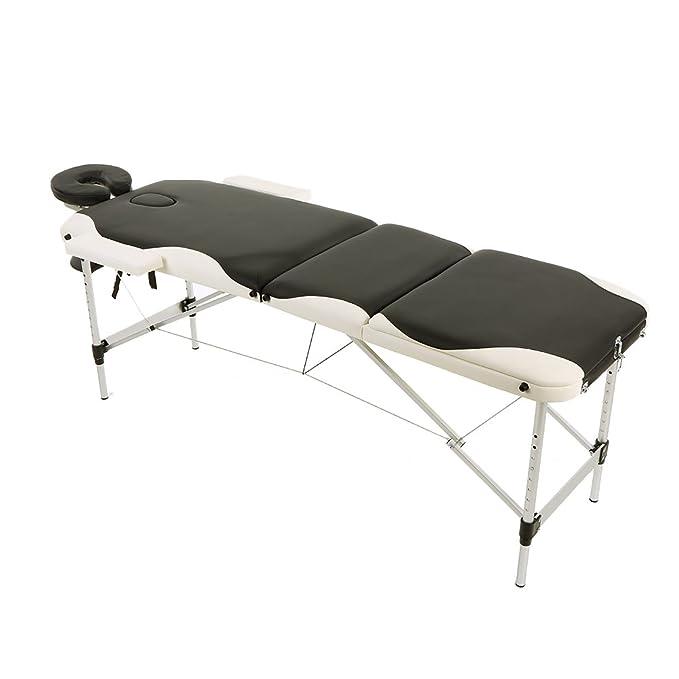 2 opinioni per Abody Lettino da Massaggi 84''L Terapia Regolabile di Massaggio SPA,Portatile