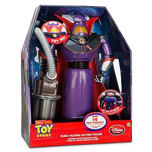 Disney Theme Park Exclusive Toy Story Deluxe Talking Emperor Zurg Action Figure