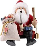 KWO Large Sitting Santa German Christmas Incense Smoker Handcrafted in Germany