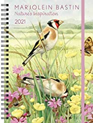Marjolein Bastin Nature's Inspiration 2021 Monthly/Weekly Planner Cale