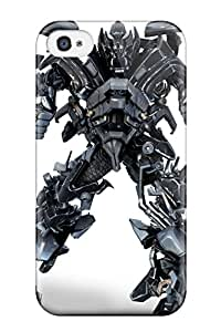 Hot 6031837K78721050 Awesome Defender Tpu Hard Case Cover For Iphone 4/4s- Transformers 2 Hd