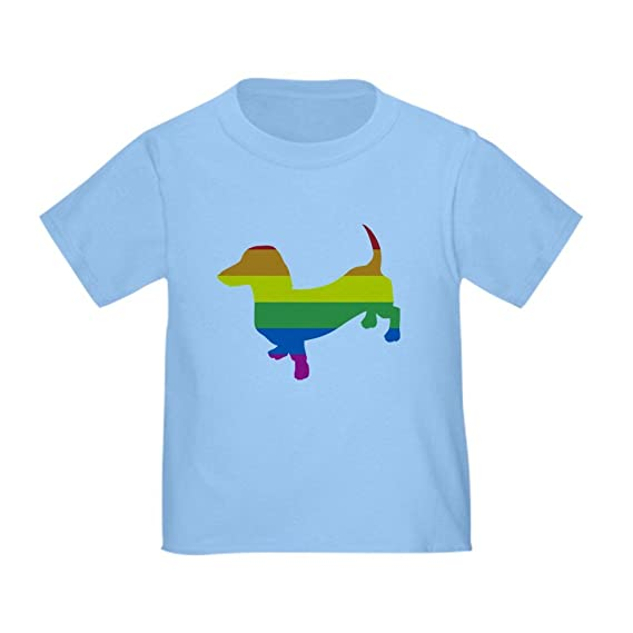 57feecba CafePress - Gay Pride Dachshund - Cute Toddler T-Shirt, 100% Cotton:  Amazon.ca: Clothing & Accessories