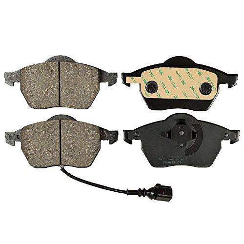 - Premium Ceramic FRONT Brake Pad Set Electronic Sensor KFE Ultra Quiet Advanced KFE687A-104