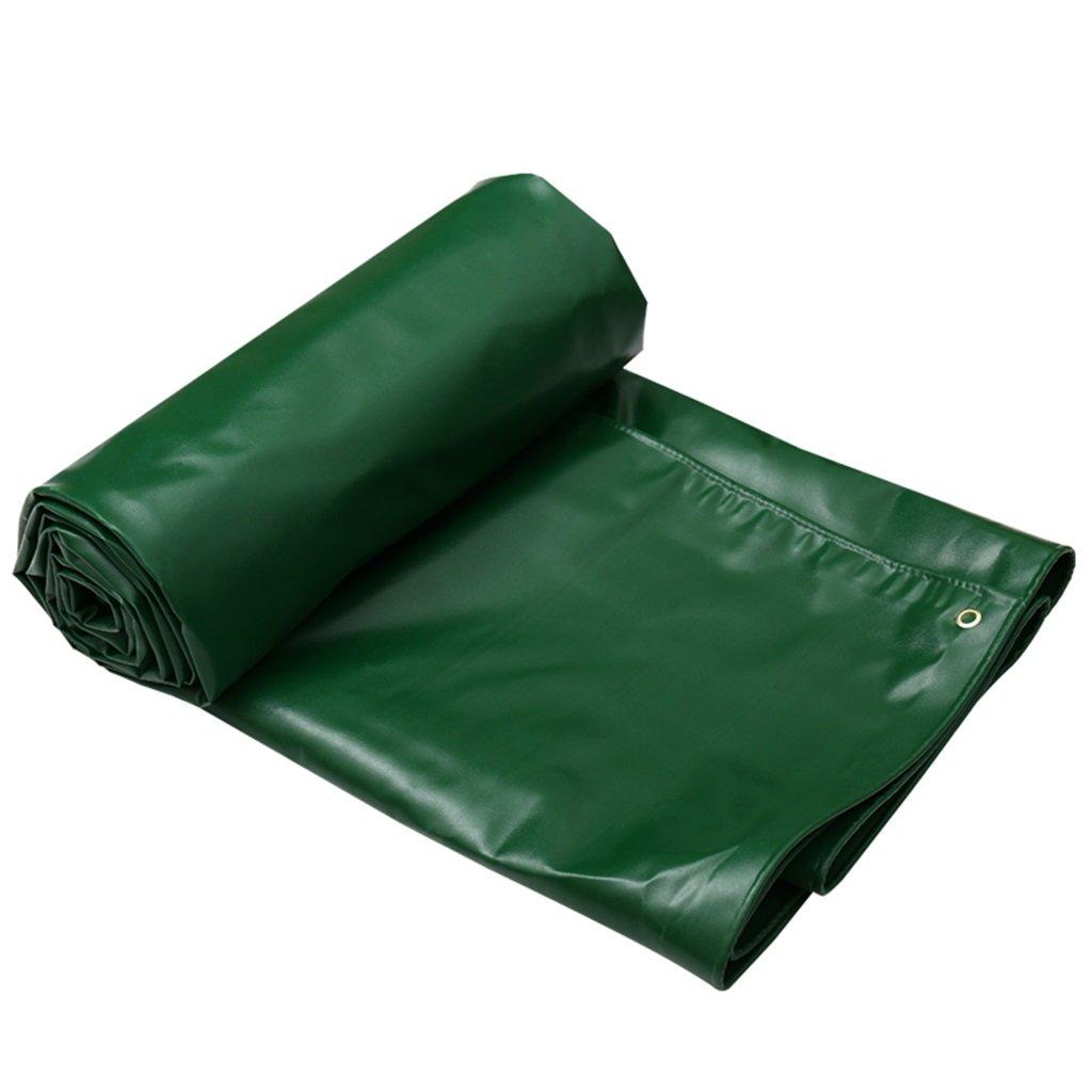 LWHY 緑の屋外シェード防塵防水タプロリントラックシェルフクロス - UV保護 - 厚さ0.7mm、650g /m²、7サイズオプション (サイズ さいず : 6MX4M) 6MX4M  B07K2RMBZQ