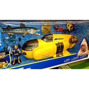 Animal Planet Deep Sea Submarine Playset - 51sPDdd6O7L - Animal Planet Deep Sea Submarine Playset