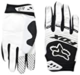 2014 Fox Head Men's Dirtpaw Race Glove, White, Small