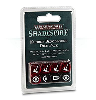 Warhammer Underworlds: Shadespire - Khorne Bloodbound Dice Pack from Warhammer