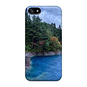 BestSellerWen Faddish Gorgeous Forested Lake Shore For LG G3 Phone Case Cover