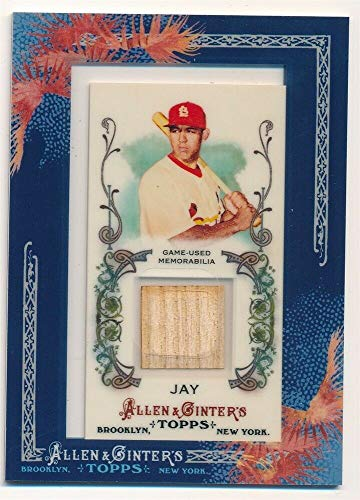 2011 Sp Game Bat - BIGBOYD SPORTS CARDS Jon Jay 2011 Topps Allen & GINTER Cardinals RELIC Game Used BAT SP F3
